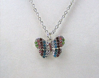 G476, Butterfly Necklace