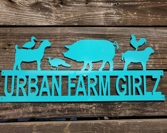 Farm Sign, Custom Farm Sign, Ranch Sign, Business Sign, Farm Entrance Sign, Gift for Him, Ranch Sign Decor, Custom Gate Sign