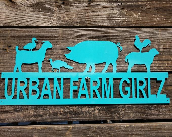 Farm Sign, Custom Farm Sign, Ranch Sign, Business Sign, Farm Entrance Sign, Gift for Him, Ranch Sign Decor, Custom Gate Sign