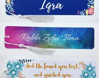 Watercolour Rabbi Zidni 'Ilma Bookmark