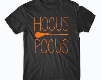 Hocus Pocus Halloween Shirt - Halloween Outfit, Witch Shirt,  Hocus Pocus Shirt, Funny Halloween T-Shirt, Halloween Costume