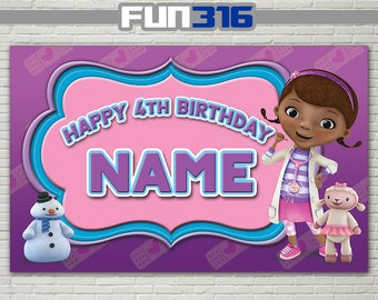 BANNER - Doc McStuffins Party Banner