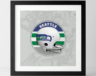 Vintage NFL: Seattle Seahawks-inspired