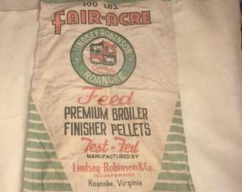 Fair-Acre Feed Sack
