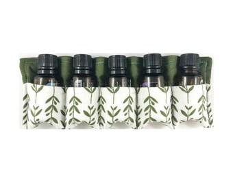 Essential Oils Travel Case - holds 5 bottles