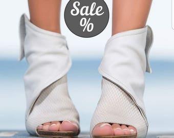 SALE/Extravagant Genuine Leather platform sandals/casual platform sandals/genuine leather casual sandals/wedge platform sandals