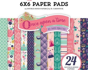 24 papers 15.2 x 15.2 cm ECHO PARK ONCE UPON A TIME