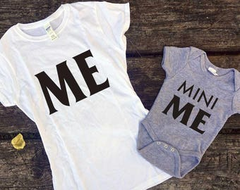 Me and Mini ME couple shirts // Mother & Son // Mothers day //