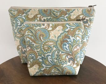 Cosmetic Bag, Makeup Bag, Toiletry Bag, Accessory Pouch, Purse, Clutch