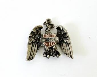 Vintage Harley Davidson Eagle Pendant