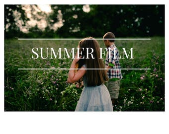 Summer - Moody film inspired Preset Collection