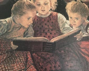 Vintage Painting ( Story Time)