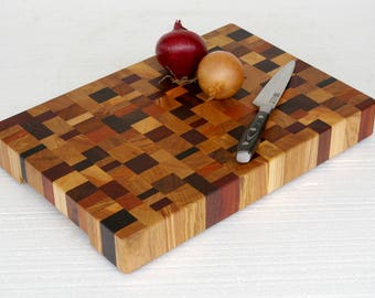 End Grain Cutting Board / End Grain Chopping Board / Cutting Board / Chopping block / End grain chopping Board