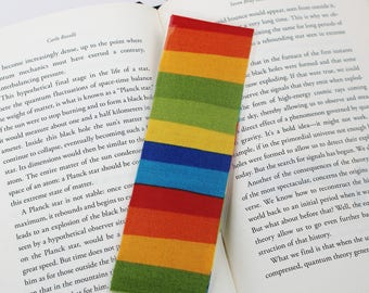 Rainbow Stripe Bookmark