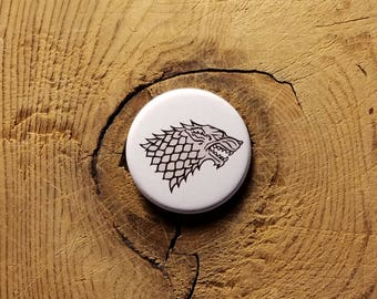 "GoT - House Stark (1-1/4"" Pinback Button)"