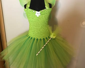 Tinkerbell/Fairy Tutu Dress 3T - 4T