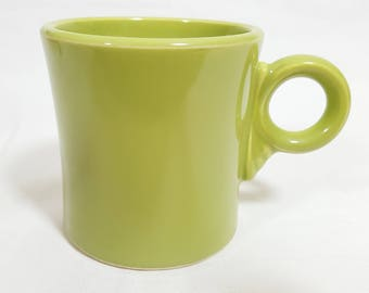 Vintage Fiesta Chartreuse Tom & Jerry Mug