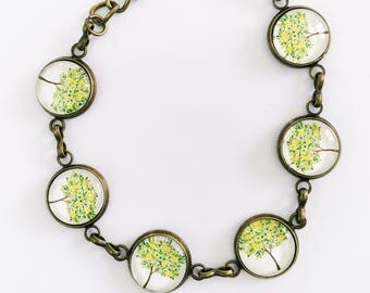 The 'Clarissa' Glass Bracelet