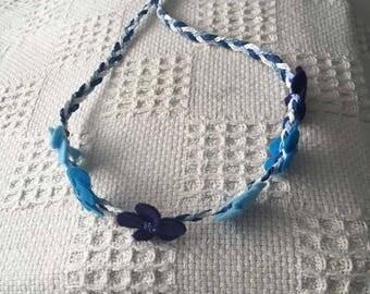True Blue Flower Crown