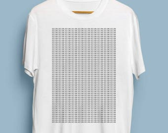 Gucci Gang Printed 500 Times Funny Lil Pump White T Shirt