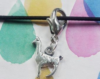 Llama Planner Charm// No Drama Llama Stitch Marker// Progress Keeper// Knitting Marker