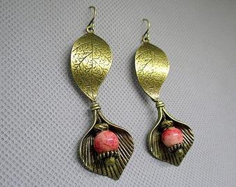 Arabian night earrings.