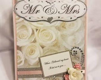 Wedding scrapbook album, wedding mini album, wedding album, mini scrapbook, wedding photo album, wedding scrapbook, wedding memory album