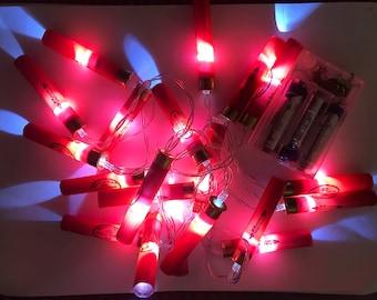 Shotgun Cartridge Lights - Red