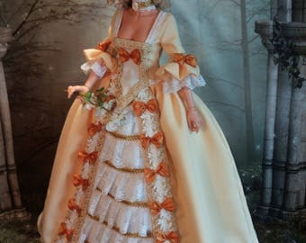 1/3  BJD   Rococo Outfit for Iplehouse SID and EID Dolls