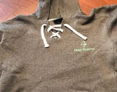 Hop Barons Hoodie with Hockey Laces