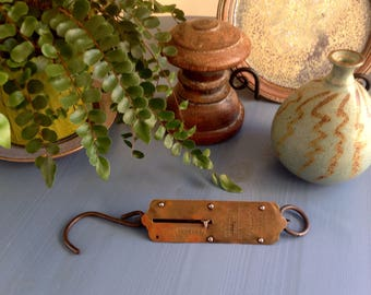 Vintage Chatillon's Balance No. 2 Hanging Scale - Industrial - Farmhouse