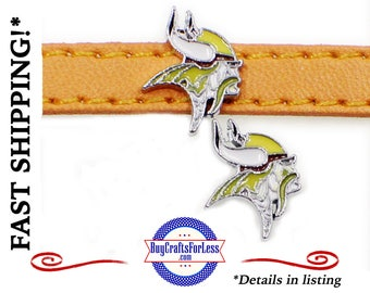 MINNESOTA 8mm SLiDE CHARMS for 8mm Slider Bracelets, Collars, Key Rings  +FREE Shipping & Discounts*