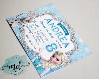 Frozen Invitation Printable