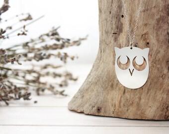 "Necklace ""Awakened Owl!"" | Small"