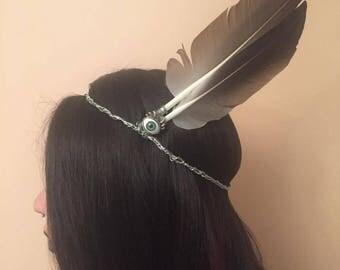 Goose Feather Headband