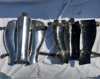 Medieval Leg Greaves for HMB Fighting HRAD Combat league protection armor