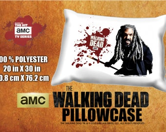 The Walking Dead Ezekiel Khary Payton  Pillowcase