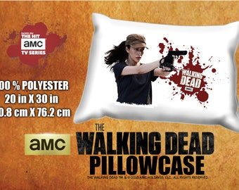 The Walking Dead Rosita Espinosa Christian Serratos Pillowcase