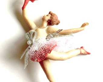 Vintage Ballerina Christmas Ornament