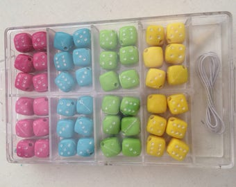 Bead by 48 color 8 mm 4 piece set