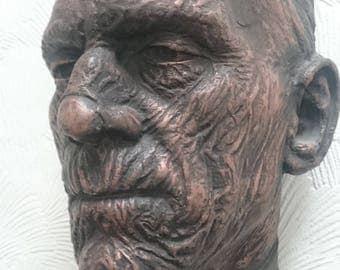 Boris karloff the mummy face cast