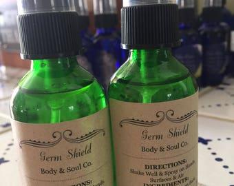 Handmade Germ Shield Spray