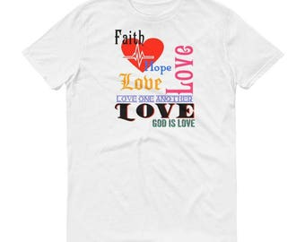 Christian T-Shirt Love one another