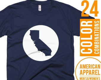 California Tshirt California T Shirt California Tee Shirt California T-Shirt California Clothes California Clothing Gift