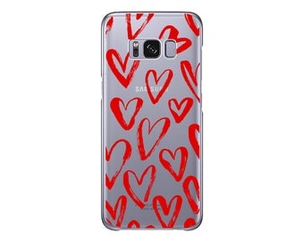 Amour   Phone case For Samsung Galaxy Note 8   Samsung S8   Samsung S8 Plus   Love   Clear case for Samsung Galaxy   Pretty   Wedding Soft