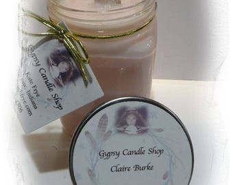 Claire Burke signature fragrance Soy Candle