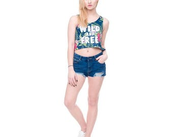 Wild Basic Crop Top