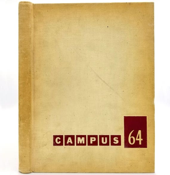 Pasadena High School Yearbook (Annual) 1964 - Campus '64 Volume 10 California CA