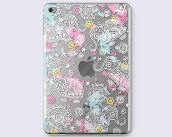 Elephant iPad Pro Cover iPad 3 Case iPad Mini 3 Case Mandala iPad Mini 2 Case iPad Air Case iPad 2 Cover iPad Pro Case iPad Smart Cover 031