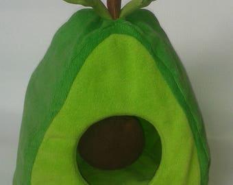 Avocado hedgehog house bed small animal giunea pig